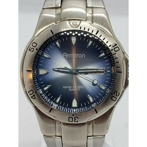 Armitron Men's 37mm Blue Watch 20/1725